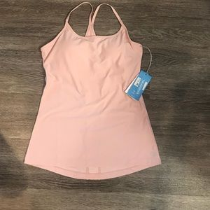 MPG Mondetta NWT racer back strappy workout top